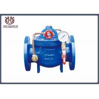 "China Slow Closing Hydraulic Control Valve Blue Color 32"" Explosion - Proof Type wholesale"