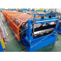 China Floor Decking / Metal Roofing Roll Former , Sheet Roll Forming Machine wholesale