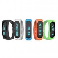China E02 Smart Wristband Waterproof Bluetooth Sport Smart Bracelet with sleep monitor and call reminding wholesale