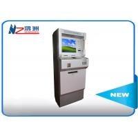China Metal Keyboard Self Payment Kiosk , Touch Screen Computer Kiosk With Card Dispenser wholesale