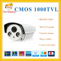 "China HIKVISION 1/3"" CMOS 1000TVL cctv system ARRAY metal bullet CCTV camera IR-CUT security Camera weatherproof Camera wholesale"