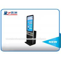 42 Inch Floor Standing Digital Lcd Advertising Kioska Displaya For Restaurant / Trade Show