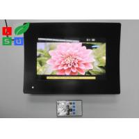 China Temperature Glass Face LCD Digital Signage , Resolution 1024x600 LCD Advertising Player wholesale