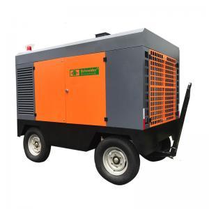 Strong Adaptability Portable Screw Air Compressor , Portable Diesel Air Compressor 13 Bar