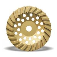China Turbo diamond cup grinding wheel for granite and marble wholesale