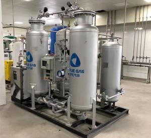 China Purity 99.99%-99.999% Psa Nitrogen Gas Generator For Laser Cutting Machine wholesale