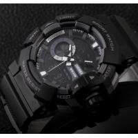 Quality New Fashion Men Water Resist 50M Chrono Sport Watch Multifunction Dual Time for sale