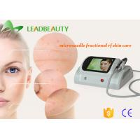 Wholesale Portable efficient Wrinkle removal/ Skin resurfacing fractional rf microneedle face treatment from china suppliers