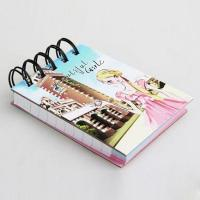China Paper Notebook, Custom School Notebook, A5 Hardcover Spiral Notebook wholesale