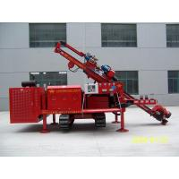 China Three Head Clamping Crawler Anchor Drilling Rig Drill Rig Machine Simple Operation wholesale