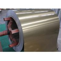 China Color Coated / Prepainted Aluminum Coil , 3003 RAL9004 black aluminum coil wholesale
