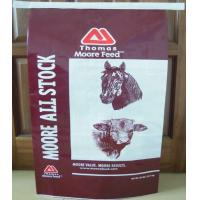 China QDCD Durable BOPP Laminated Bags , PP Woven Laminated Bag For Horse Feed wholesale
