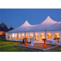 Quality 300-2000 People Big Wind Proof Large Wedding Tents With Tables And Chairs for sale