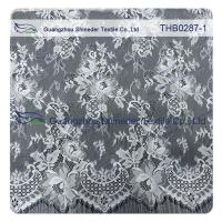 Buy cheap Light Two-tones Colors Polyester & Nylon Chantilly Lace for Wedding & garment from wholesalers