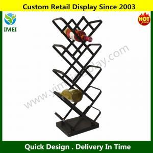 China Urban Designs Modern 14-Bottle Metal Wine Rack Display  YM6-006 wholesale