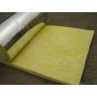 Quality glass wool blanket with aluminium foil for sale