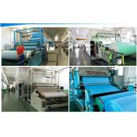 woodpulp laminated polyester Jumbo roll for industrial clean wiper