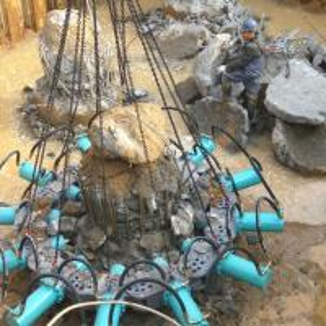 China hydraulic pile breaker for concrete piles 400-2500mm diameter wholesale