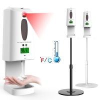 China No Touch Automatic Soap Dispenser with Infrared Temperature Thermal Camera wholesale