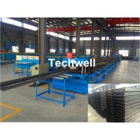 China CT100-600 Electric Cable Ladder Roll Forming Machine for Making Steel Cable Tray Ladder Profile Sheets wholesale