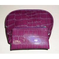 China 2010 New Design Purple Cosmetic Bag wholesale