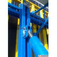 Buy cheap Q235 Steel Channel Single Sided Wall Formwork Supported By Telescopic Brace from wholesalers