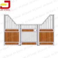 Buy cheap Professional Galvanized Metal Horse Stalls / Stable For Horse Shed Shelter from wholesalers