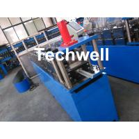 China Gi Coil Furring Channel Cold Roll Forming Machine Guiding Column Form Structure wholesale