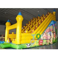 China Backyard Playground Funny Inflatable Castle Kids Slide For Party CE Approval wholesale
