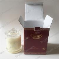 China 100% natural soy scent candle container in stock wholesale