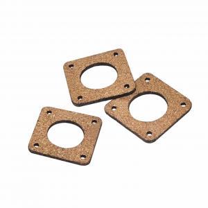 China Cork Sheet 42mm*42mm*3mm 3D printer Shock Absorber NEMA 17 Damping Gasket wholesale