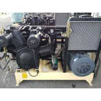 China Water Cooling Piston Air Compressor Reciprocating Three Stage With Silencer wholesale
