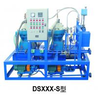 China Automatic Control Fuel Oil Separator Unit for 0# Diesel 1600 L / H on sale