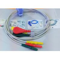 China ECG Leadwire for 3 Color Alligator clip electrodes Needle Electrode For Patient wholesale