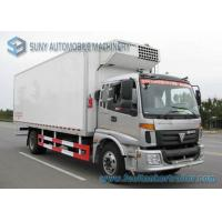 China Tianjin Lovol Engine Refrigerator Van Truck 160 Hp 4x2 refridgerator truck FOTON - Auman 15 T on sale