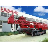 China Crawler mounted Top Drive Oilfield workover Drilling Rig with borehole diameters of 3.5 ″to 47″ wholesale