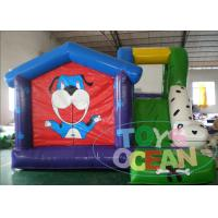 Quality Kids Inflatable Bouncer Combo Indoor Puppy Dog Inflatable Bounce Castle With Slide for sale