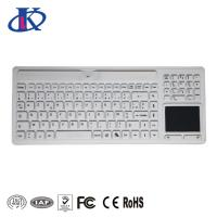 China Wireless Waterproof Keyboard with Touchpad and Numeric Pad for Medical Using wholesale