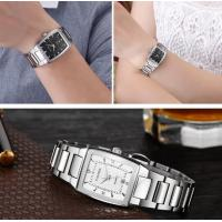Quality CADISEN High Quality  Full Steel  Lovers Quartz Wrist Watch Couple Watch With Calendar C6069 for sale