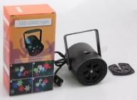 Can change patterns LED outdoor Snowflake Christmas Patterns projector