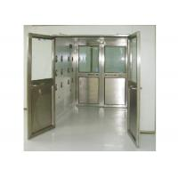China Professional Clean Room / Workshop Industrial Air Shower With LED display wholesale