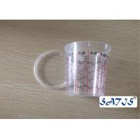 China Disposable Mixing Cups With 650ml Plastic cup OEM accepted  print on body wholesale