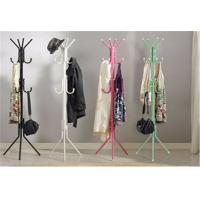China Colorful Floor Standing Storage Rack Shelf Clothes / Hat / Coat Rack Hanger Stand wholesale