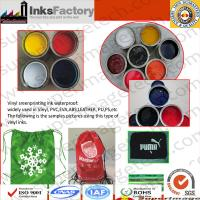 China Nylon Ink/Vinyl Ink/PVC Ink for Screen Printing wholesale