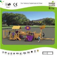 China Outdoor Wooden Playground (KQ10153A) wholesale