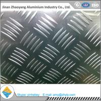 China Supermarket Floor Aluminium Alloy Sheet 0.8mm 1.0mm 5 Bar Aluminum Tread Sheet wholesale