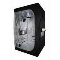 Light Proof Black Hydroponic Grow Tent With 600D Mylar Fabric For Greenhouse Horticulture