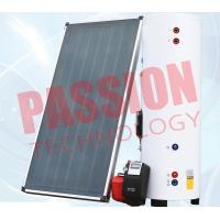 China Natural Circulation Split Solar Water Heater Flat Plate Copper Connection on sale