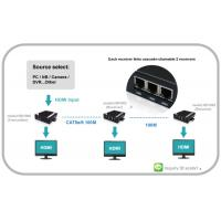 Buy cheap Video VGA Extender with Audio can chian able HDMI and RS232 and IR from wholesalers
