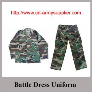 Wholesale Camouflage Military Uniform BDU